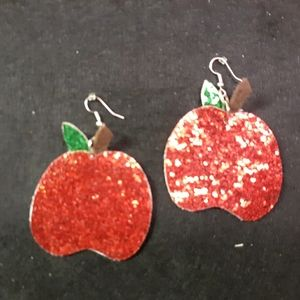 Handmade Apple Earrings